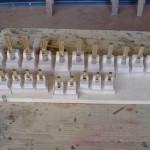 Canne ad ancia in costruzione