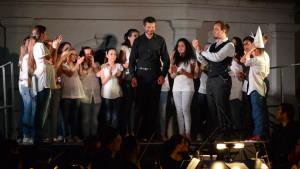 Il Maestro Alessandro Kirschner applaudito dagli interpreti