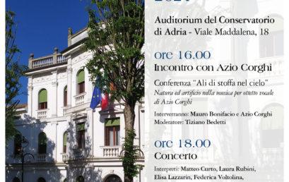 Seminario e Concerto M° Azio Corghi