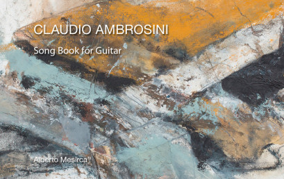 "10 Giugno 2017 ore 16:30, Presentazione CD ""Song Book for Guitar"" di Alberto Mesirca"