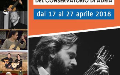 Festival Chitarristico Internazionale 2018