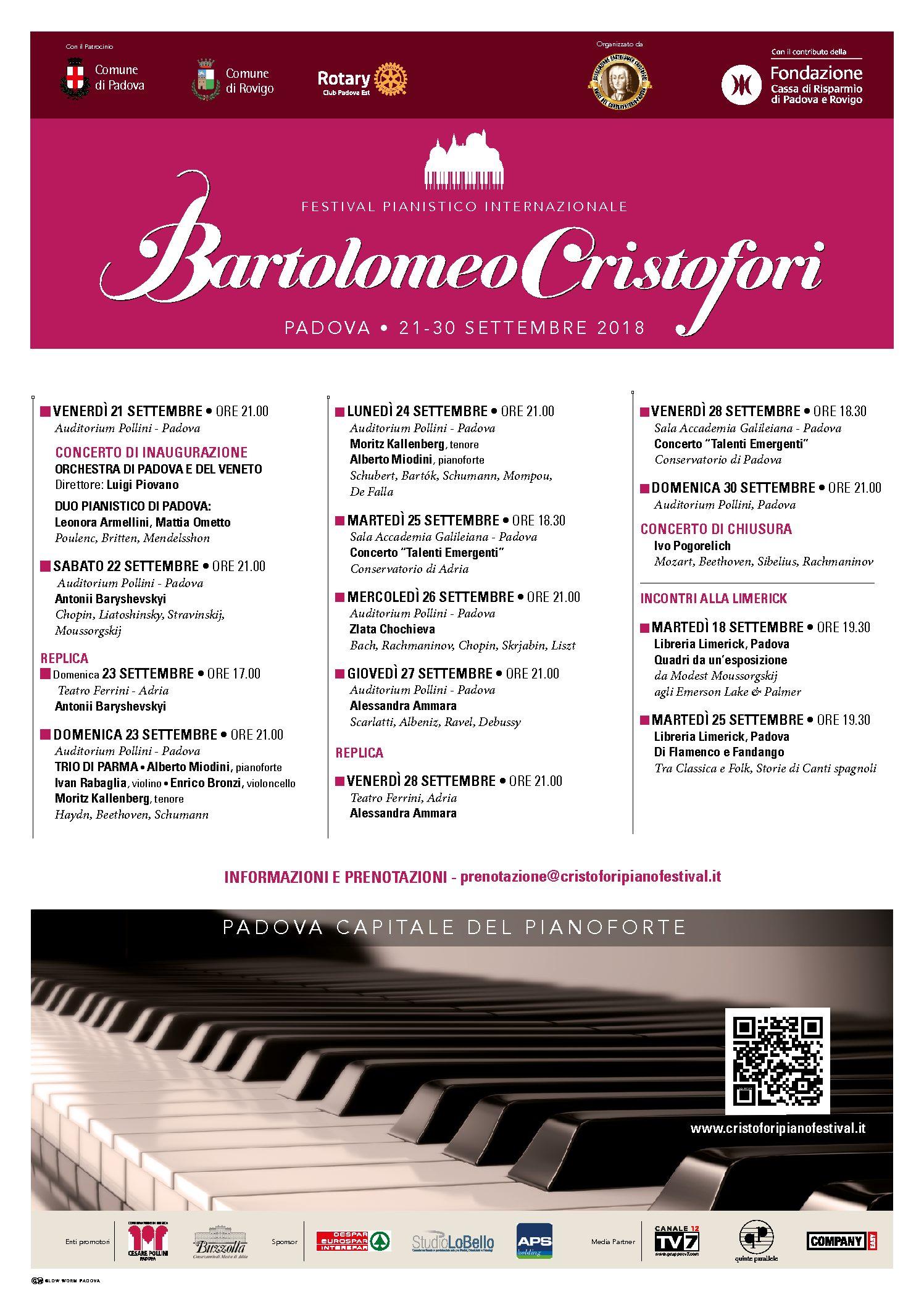 Festival Pianistico Internazionale Bartolomeo Cristofori