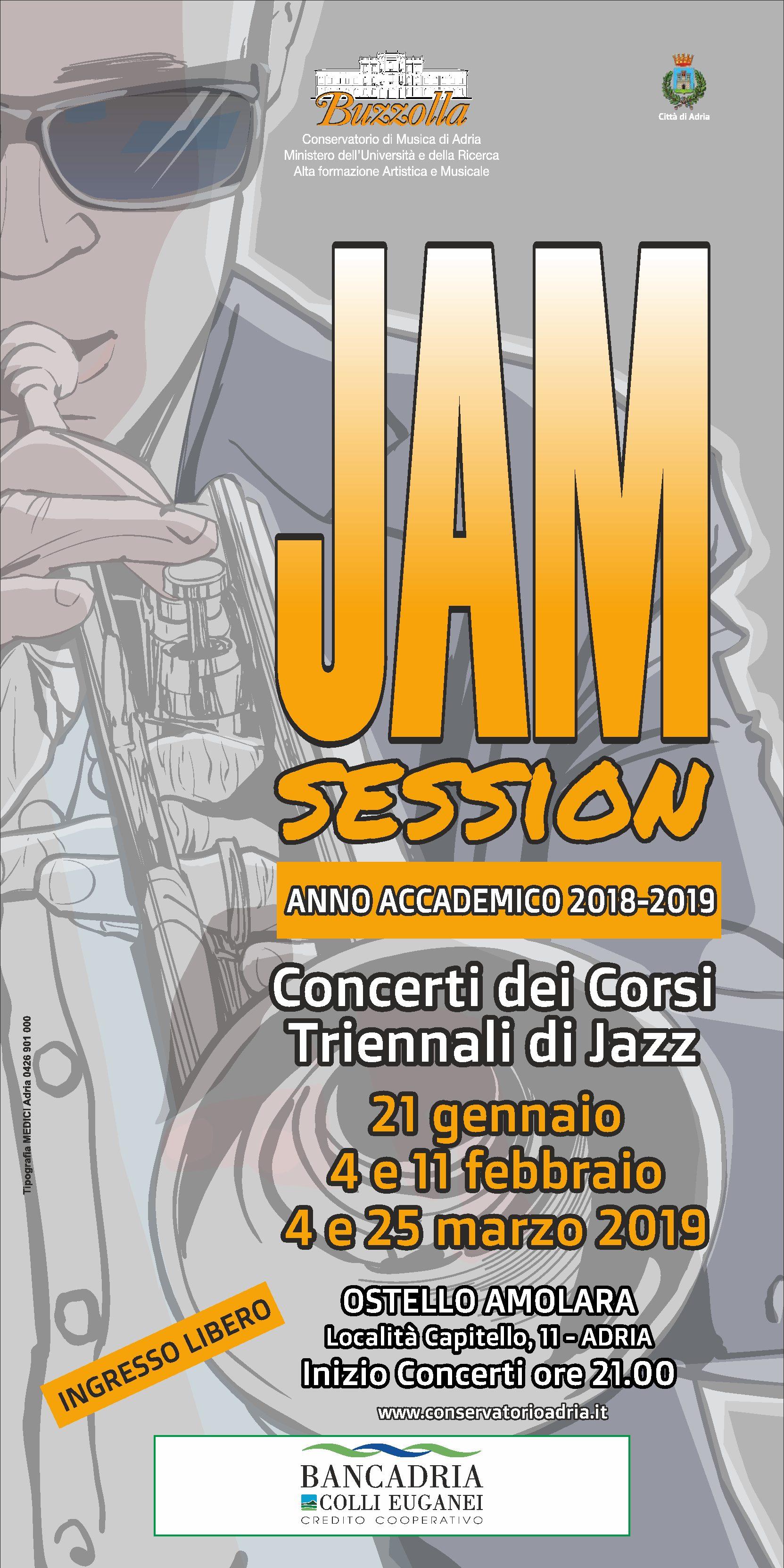 Jam Session – Concerti dei corsi triennali Jazz