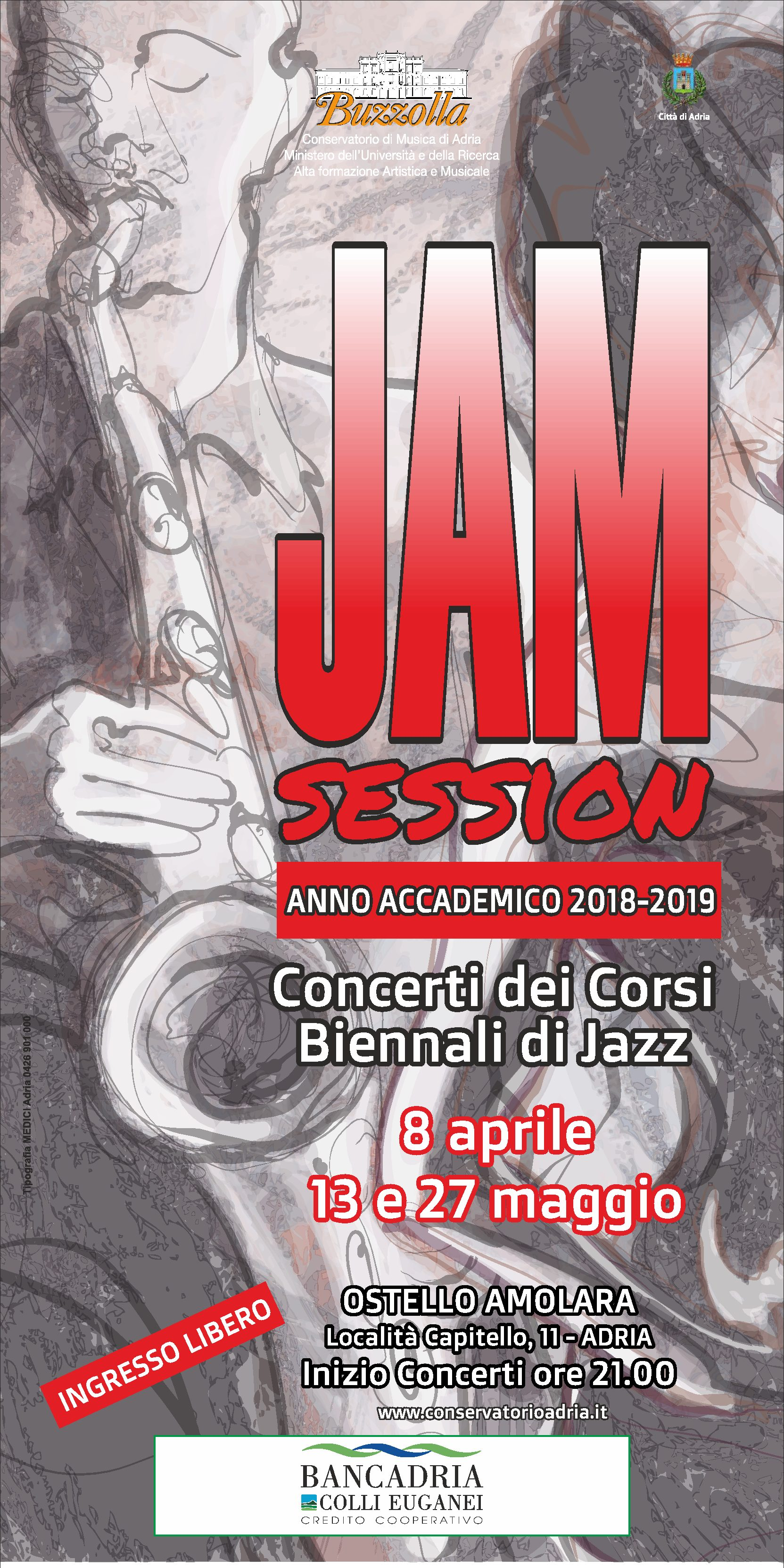Jam session – Concerti dei corsi biennali jazz