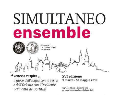 SIMULTANEO ensemble, 13 aprile 2019 ore 17.00