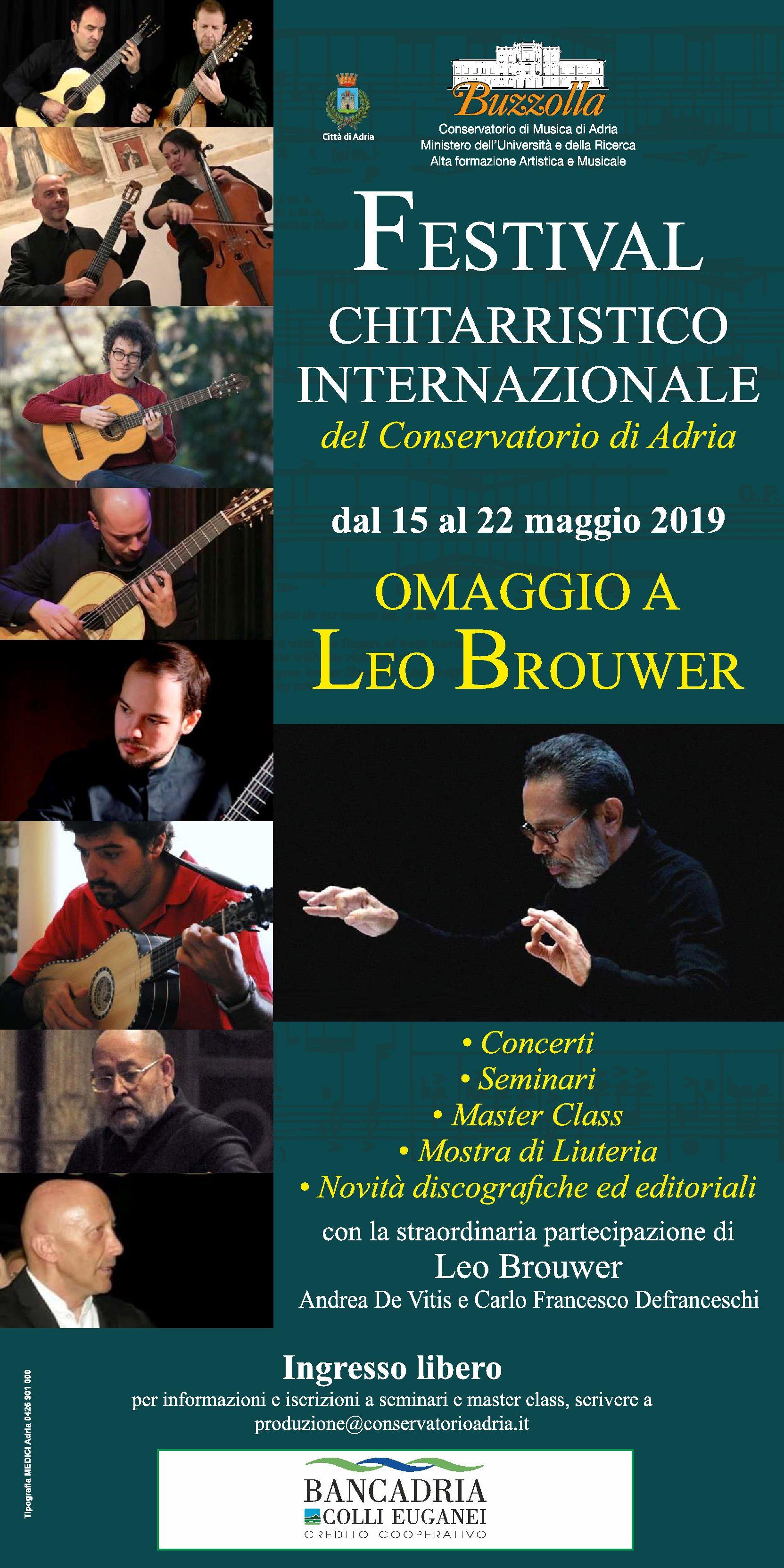 15-22 maggio 2019 – Festival Chitarristico Internazionale