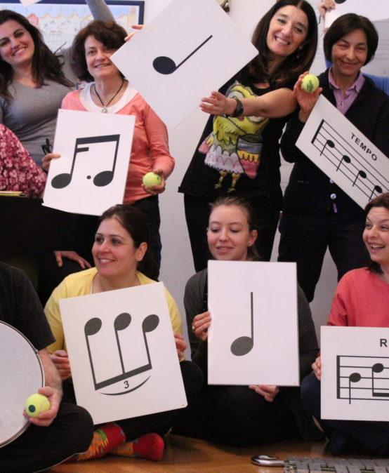 Corso di formazione didattico-musicale – Introduzione al metodo Dalcroze