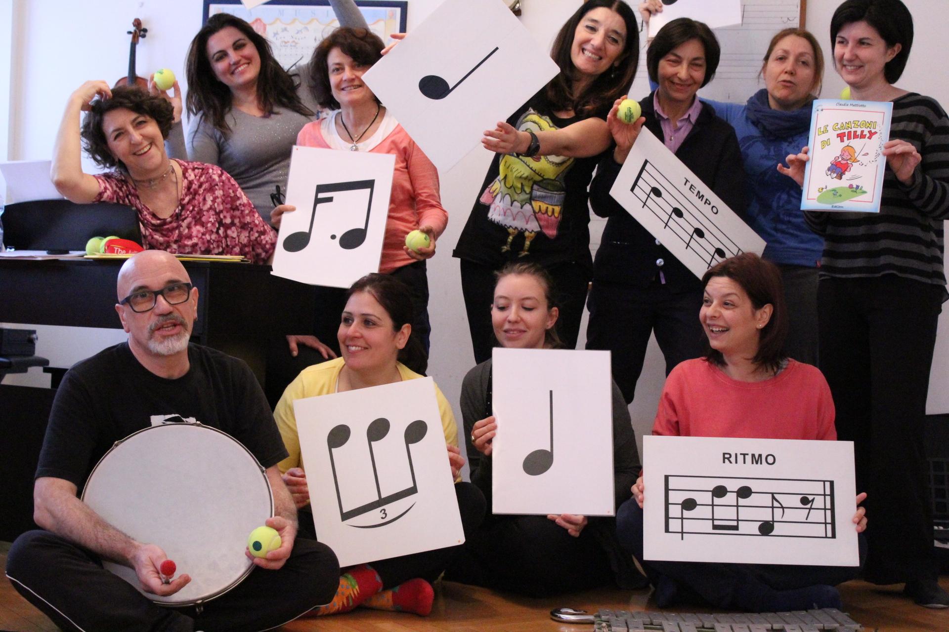 Aggiornamento 13/09/19 – Corso di formazione didattico-musicale – Introduzione al metodo Dalcroze