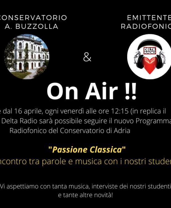 """PASSIONE CLASSICA"" – ON AIR!!!!"