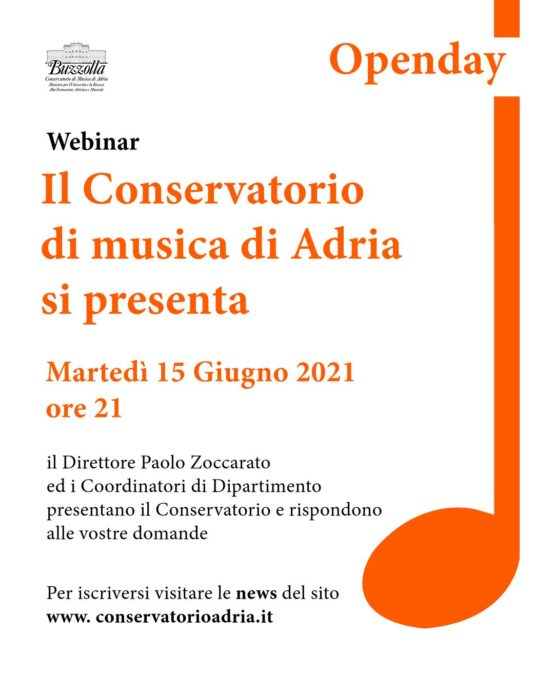 Open Day 15 giugno
